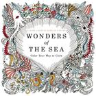 Wonders of the Sea: Color Your Way to Calm Cover Image