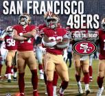 San Francisco 49ers: 2020 12x12 Team Wall Calendar Cover Image