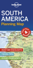 Lonely Planet South America Planning Map (Planning Maps) Cover Image