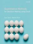 Quantitative Methods for Decision Making Using Excel Cover Image