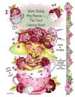 Sherri Baldy My-Besties Tea Time Coloring Book Cover Image