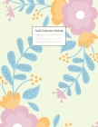 Graph Composition Notebook: Grid Paper Notebook: Large Size 8.5x11 Inches, 110 pages. Notebook Journal: Pretty Colourful Plants Workbook for Presc Cover Image