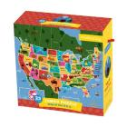 Map of the U.S.A. Jumbo Puzzle Cover Image