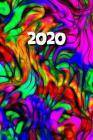 2020: Agenda semainier 2020 - Calendrier des semaines 2020 - Art abstrait Cover Image