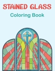 Stained Glass Coloring Book: Beautiful Flower Designs for Stress Relief, Relaxation Boys and Girls Teens. Vol-1 Cover Image