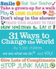 31 Ways to Change the World Cover Image