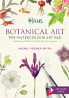 RHS Botanical Art The Watercolour Art Pad: 15 plant and flower artworks for you to paint Cover Image