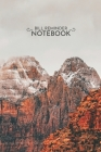 Bill Reminder 6x9: Mountains Bill Reminder Notebook 6x9 Inches 100 Pages Bill Organizer NotebookSnow Trees on Landscape Cover Image