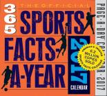 The Official 365 Sports Facts-A-Year Page-A-Day Calendar 2017 Cover Image