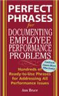 Perfect Phrases for Documenting Employee Performance Problems Cover Image