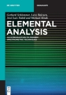 Elemental Analysis: An Introduction to Modern Spectrometric Techniques (de Gruyter Textbook) Cover Image