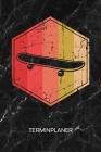 Terminplaner: Skateboardliebhaber Kalender Oldschool Skateboarding Terminkalender - Retro Skater Wochenplaner Vintage Skateboard Woc Cover Image