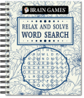 Brain Games - Relax and Solve: Word Search (Toile) Cover Image