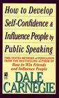 How to Develop Self-Confidence and Influence People by Speaking Cover Image