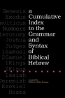 A Cumulative Index to the Grammar and Syntax of Biblical Hebrew Cover Image