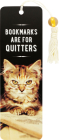 Bookmarks Are for Quitters Beaded Bookmark Cover Image