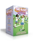 The Kicks Complete Paperback Collection: Saving the Team; Sabotage Season; Win or Lose; Hat Trick; Shaken Up; Settle the Score; Under Pressure; In the Zone; Choosing Sides; Switching Goals; Homecoming; Fans in the Stands Cover Image