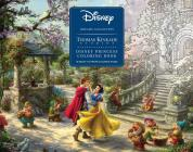 Disney Dreams Collection Thomas Kinkade Studios Disney Princess Coloring Book Cover Image
