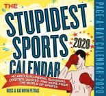 The Stupidest Sports Page-A-Day Calendar 2020 Cover Image