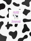 Cow journal for girls Cover Image