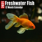 Calendar 2021 Freshwater Fish: Cute Freshwater Fish Photos Monthly Mini Calendar With Inspirational Quotes each Month Cover Image