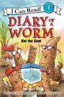 Diary of a Worm: Nat the Gnat (I Can Read Level 1) Cover Image