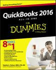 QuickBooks 2016 All-In-One for Dummies Cover Image
