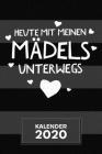Kalender 2020: A5 Junggesellinnenabschied Terminplaner für Brautjungfer mit DATUM - 52 Kalenderwochen für Termine & To-Do Listen - Mä Cover Image