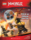 Ninja Vs. Dragon Hunters (LEGO Ninjago: Activity Book with minifigure) Cover Image