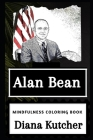Alan Bean Mindfulness Coloring Book Cover Image