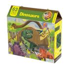 Dinosaurs 63 Piece Puzzle Cover Image