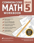 5th grade Math Workbook: CommonCore Math Workbook Cover Image