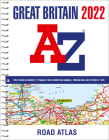 Great Britain A-Z Road Atlas 2022 Cover Image