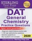 Sterling Test Prep DAT General Chemistry Practice Questions: High Yield DAT General Chemistry Questions Cover Image