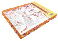 Cats coloring kit Cover Image