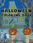 Halloween Coloring Book: Halloween Designs Adult Coloring Book (Adult Coloring Books) Cover Image