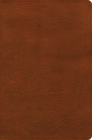 NASB Giant Print Reference Bible, Burnt Sienna LeatherTouch, Indexed Cover Image