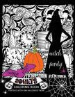 Horror Night Adults coloring book: Skull and Witch Design for Relaxation Cover Image
