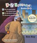 A to Z Mysteries: Books O-R: The Orange Outlaw; The Panda Puzzle; The Quicksand Question; The Runaway Racehorse Cover Image