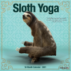 Sloth Yoga 2021 Mini Wall Calendar Cover Image