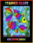 Stained Glass Coloring Book: Animal Designs (Dover Design Stained Glass Coloring Book) Cover Image