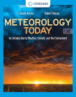 Meteorology Today: An Introduction to Weather, Climate, and the Environment Cover Image