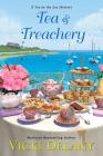 Tea & Treachery (Tea by the Sea Mysteries #1) Cover Image