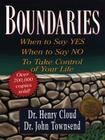 Boundaries: When to Say Yes, When to Say No, to Take Control of Your Life (Christian Softcover Originals) Cover Image