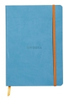 Rhodiarama Lined 6 X 8 1/4 Turquoise Softcover Journal Cover Image