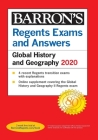 Regents Exams and Answers: Global History and Geography 2020 (Barron's Regents NY) Cover Image