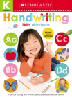 Handwriting Kindergarten Workbook: Scholastic Early Learners (Skills Workbook) Cover Image