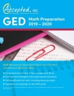 GED Math Preparation 2019-2020: GED Mathematics Skills Study Guide and Test Prep with Practice Questions Book Cover Image