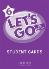 Let's Go 6 Student Cards: Language Level: Beginning to High Intermediate. Interest Level: Grades K-6. Approx. Reading Level: K-4 Cover Image