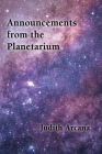 Announcements from the Planetarium Cover Image